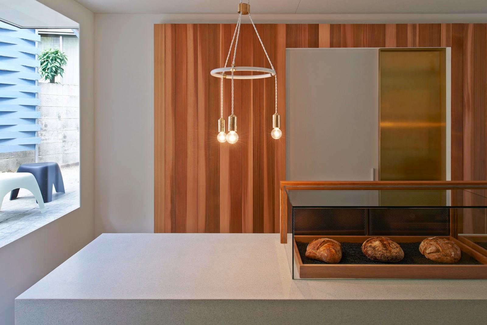 日本Panscape面包店的巧妙设计