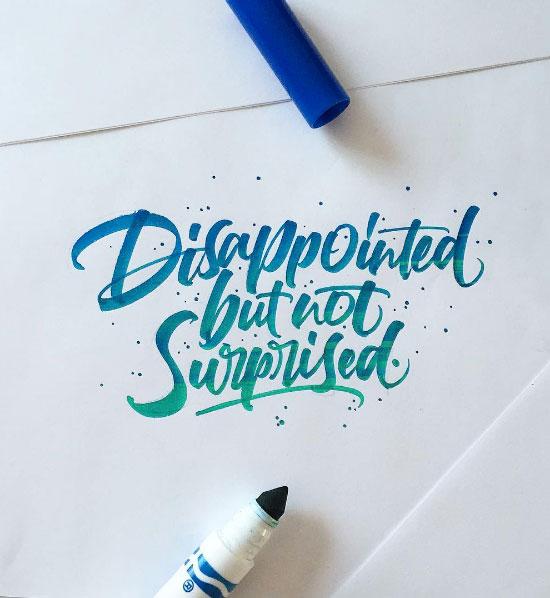 David Milan创意手写字体设计