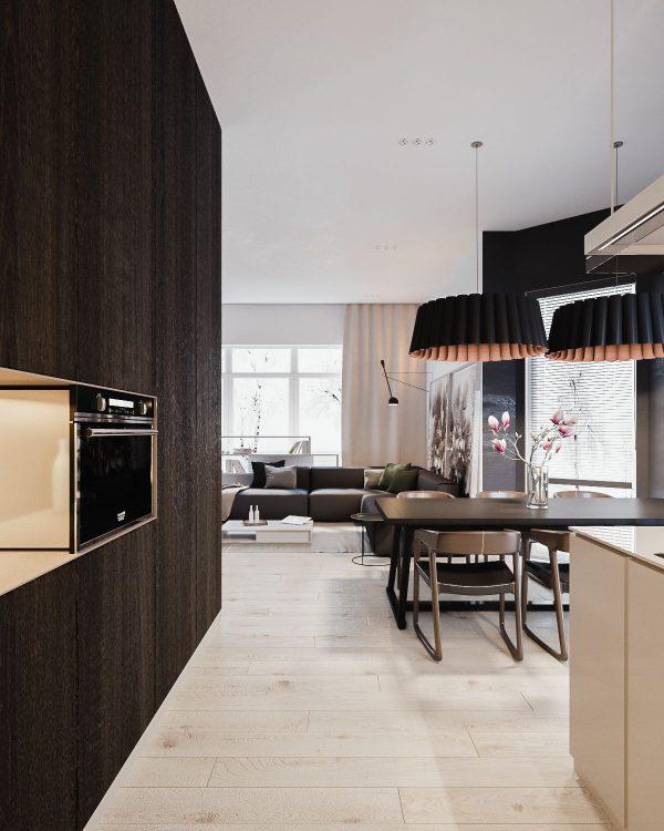 180平极简主义风格家居装修设计