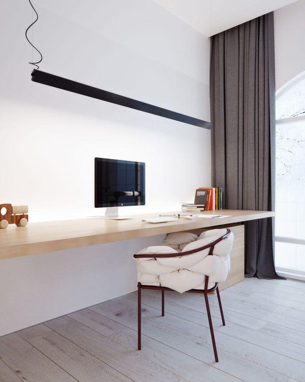 180平极简主义风格家居装修设计(2)