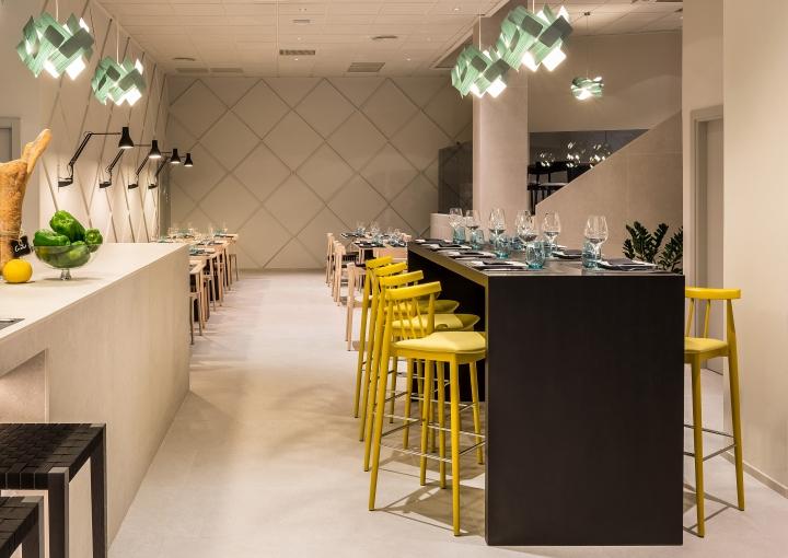 西班牙TIPICS时尚餐厅空间设计