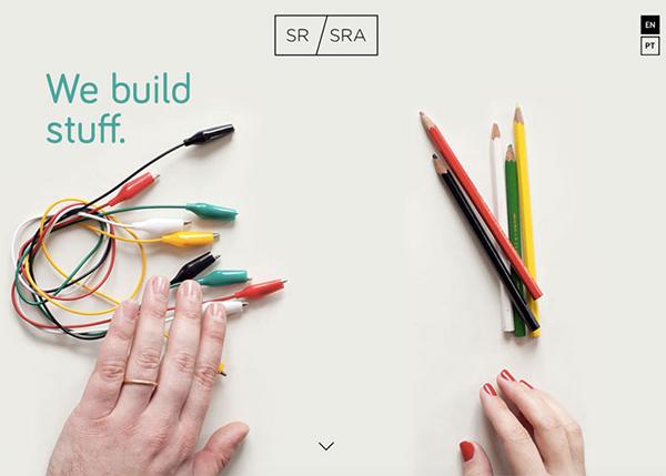 50个创意单页面网站设计