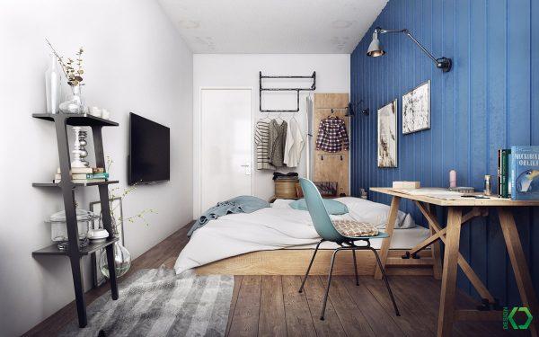 极简主义北欧风格家居装修设计