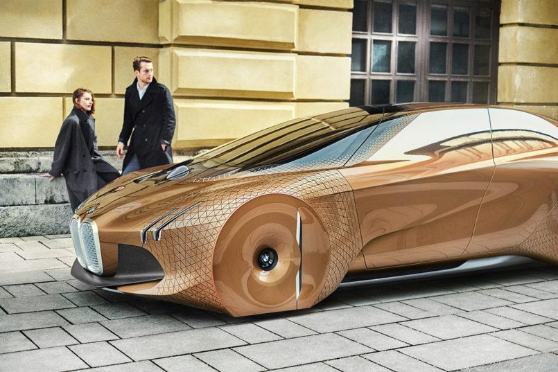 BMW VISION NEXT 100概念车设计