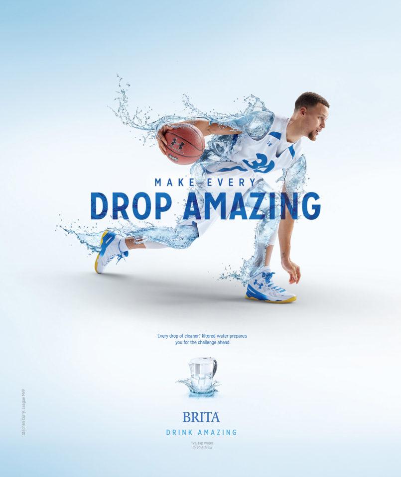 Brita滤水壶创意广告设计