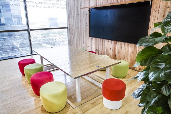 京东总部办公室空间设计