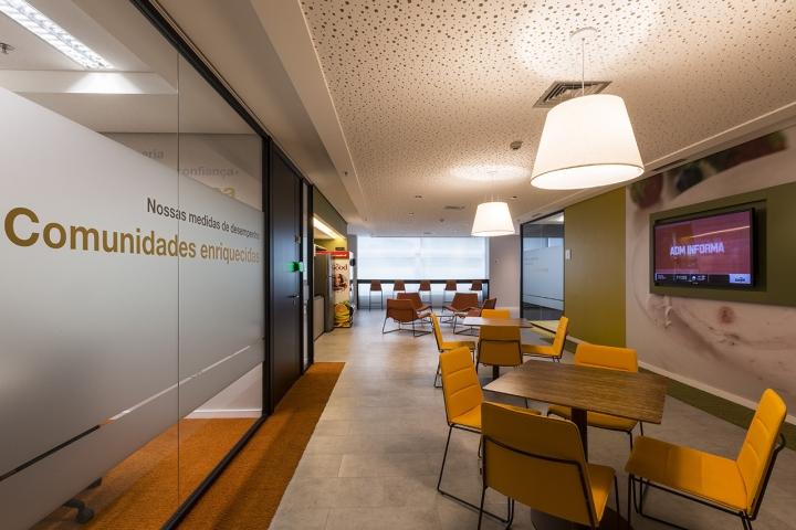 Cargill圣保罗现代办公空间设计