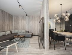 4个优雅高档的现代住宅装修设计