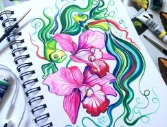Anna Bucciarelli精美的手绘彩色插画欣赏