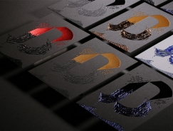Atelier Bulk凸版卡片设计欣赏