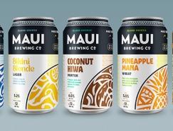 Maui啤酒包裝設計