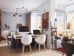 4个激发灵感和创造力的超小公寓设计