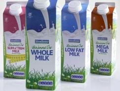 Bainne Úr鲜牛奶包装设计