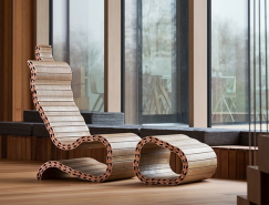 灵感来源于脊柱的百变家具