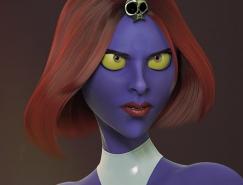Francis-Xavier Martins 3D概念CG肖像設計