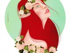 Tamara Torres美丽的肖像插画作品