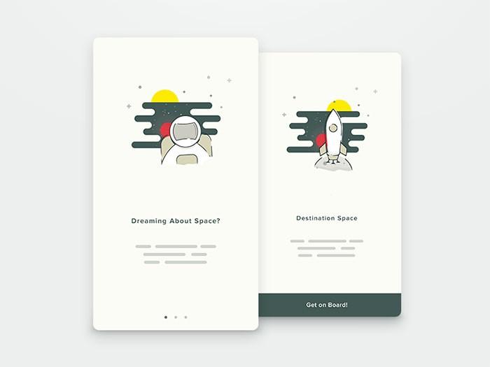 APP引导页设计