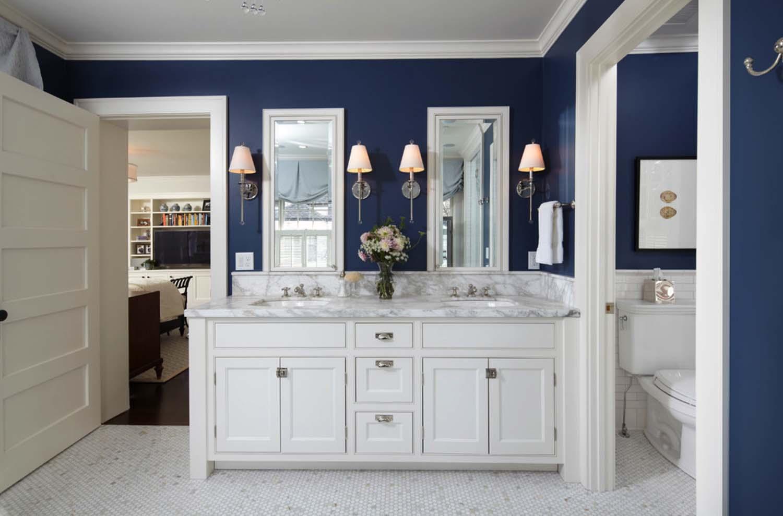 53个传统风格美式卫生间设计(5)