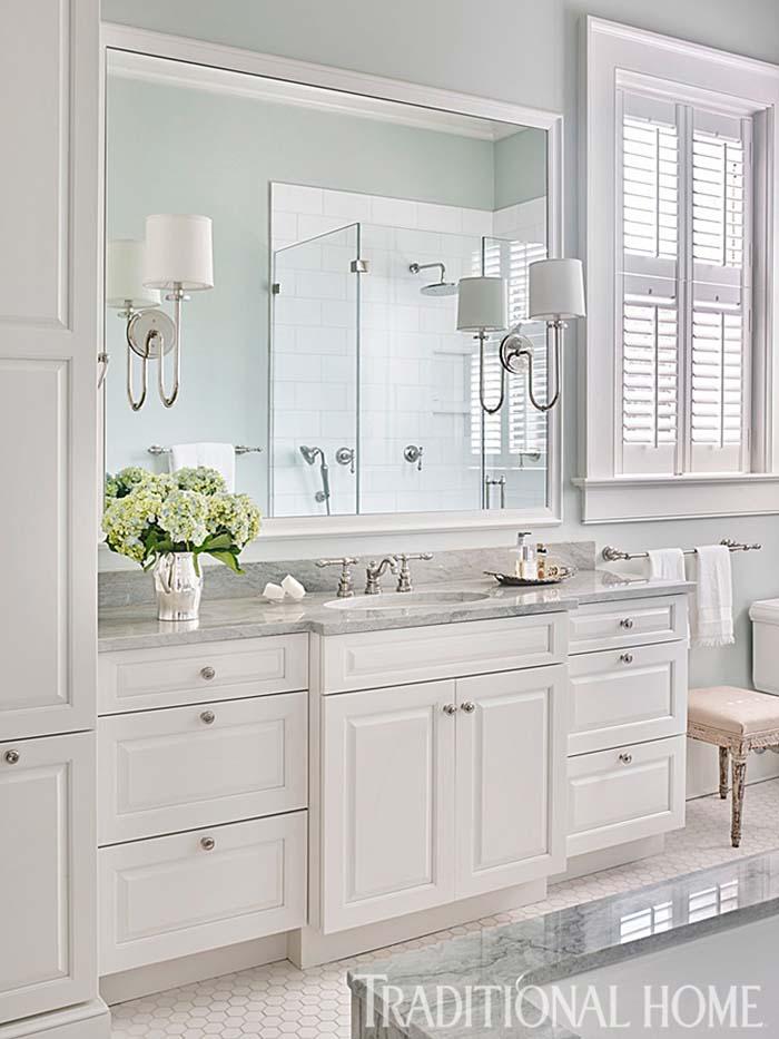 53个传统风格美式卫生间设计(5) - 设计之家