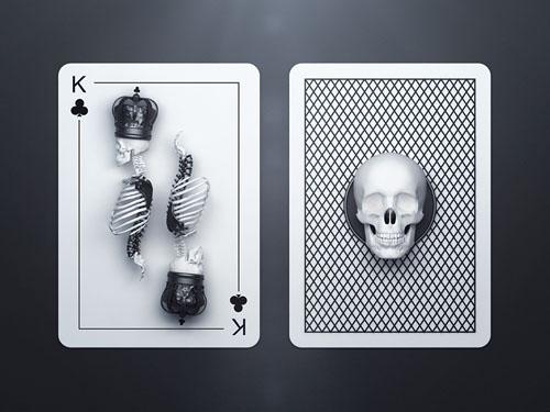 50个创意扑克牌设计