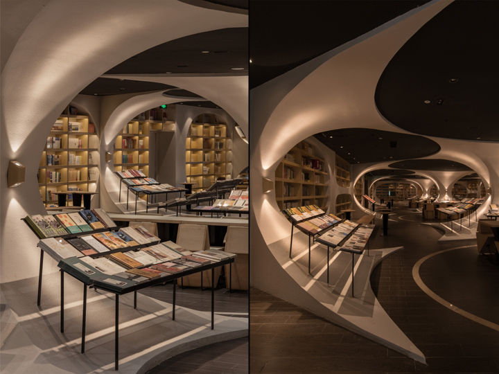 扬州钟书阁书店室内空间设计景区标志viv书店说明图片