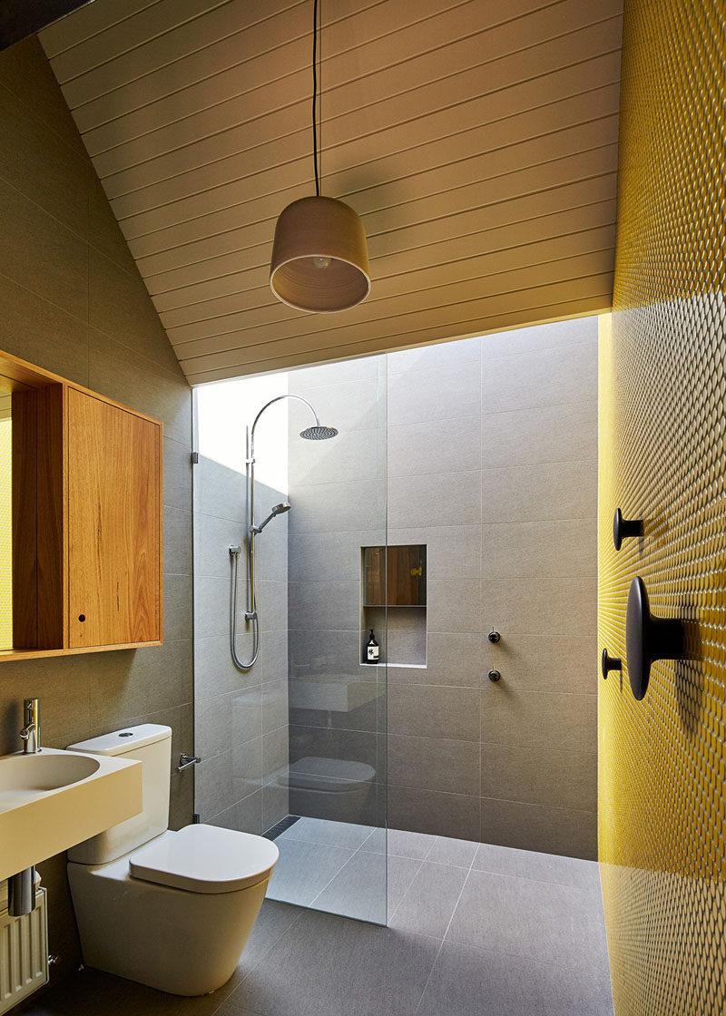 卫生间收纳创意:淋浴房精致的壁龛设计