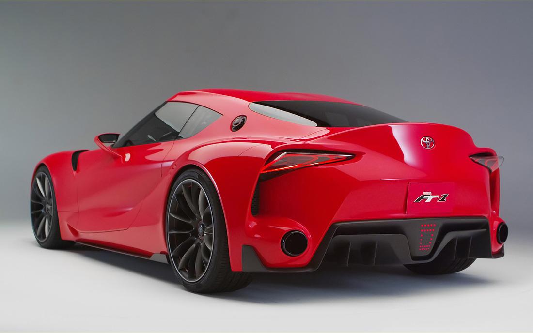 丰田全新Supra跑车设计