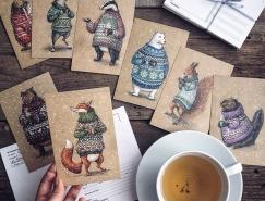 Lia Selina手繪童話風格插畫作品