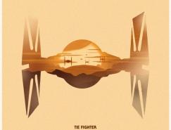 Philip Sultana星球大战插画海报设计