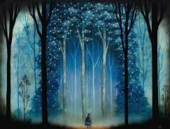 怪物與森林:Andy Kehoe奇幻插畫作品