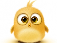 Photoshop绘制超萌的小黄鸟