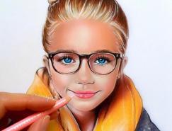 Natalia Vasilyeva彩色铅笔肖像插画欣赏