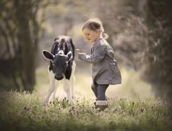 Elena Shumilova:孩子与动物的温暖〖瞬间