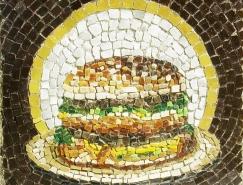 美国街头艺术家Jim Bachor的马赛克艺术
