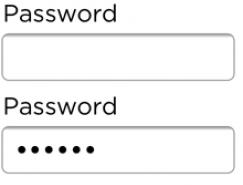 隐藏密码还是显示密码