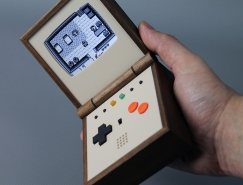 Love Hultén怀旧情�愫打造的复古便携式游戏机