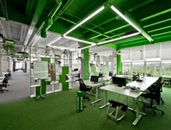 VINTED 4TH自由开放的办公空间设