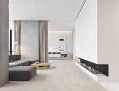 现代简约风格的3个白色主题公寓设计