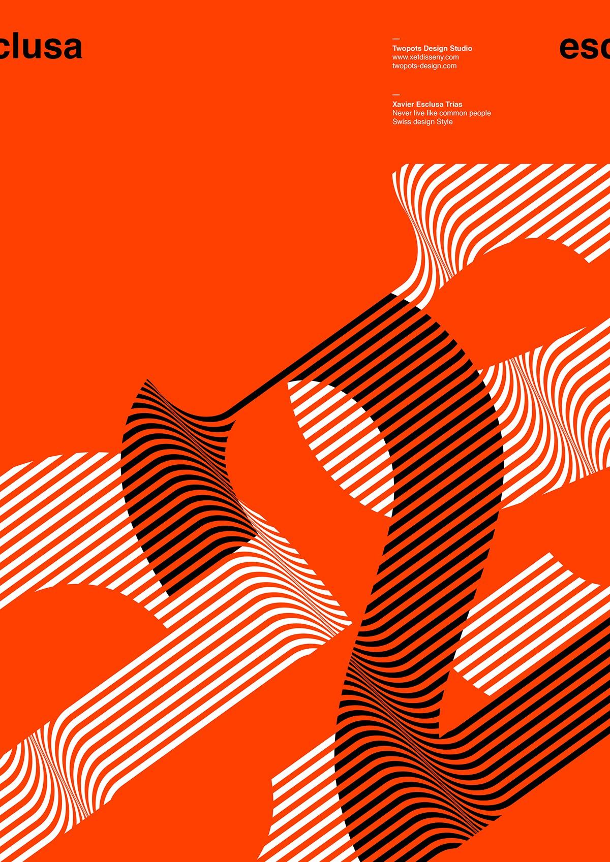 音乐资讯_Xavier Esclusa极简风格海报设计 - 设计之家