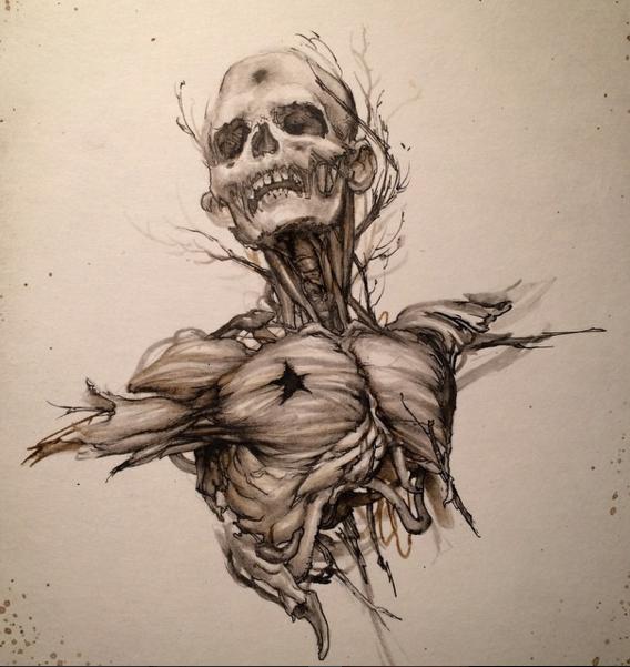 40张手绘超现实主义插画作品(2)