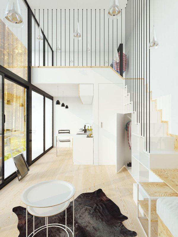 6个loft小户型装修案例欣赏 3 设计之家