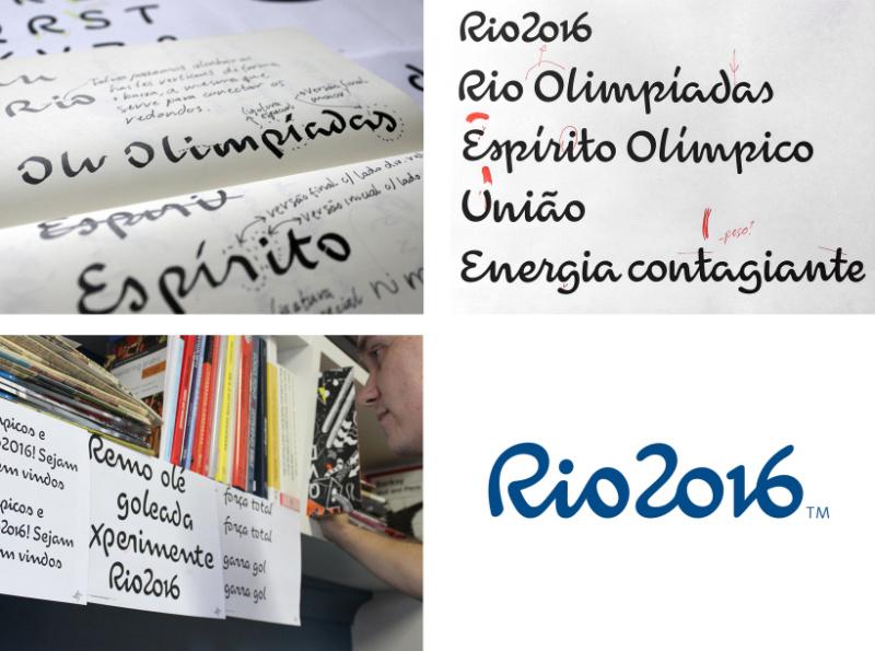 2016年里约奥运会会徽和字体是如何设计出来的?