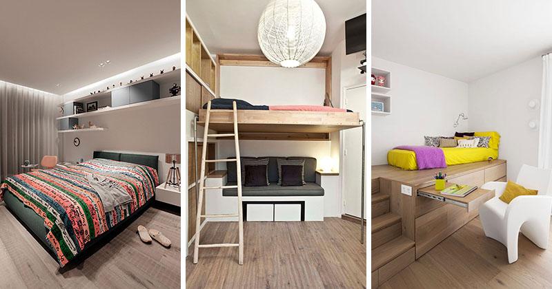 14个青少年主卧室装修效果图设计