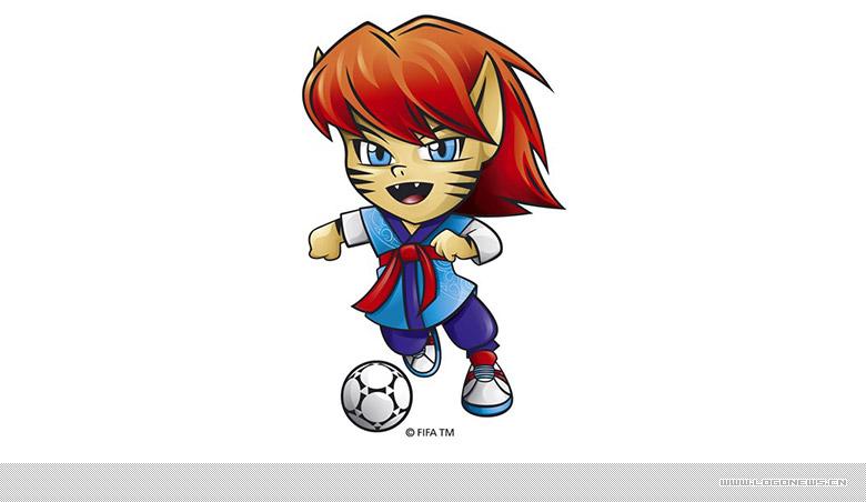 """2017年韩国u20世界杯吉祥物""""chaormi""""发布"""