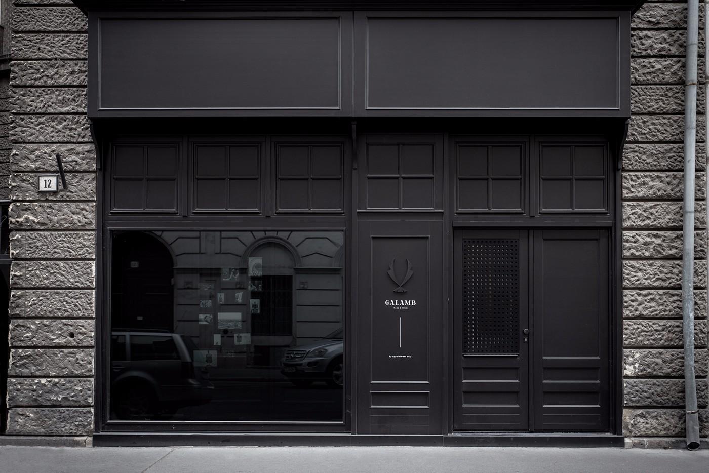 手工西服品牌Galamb Tailoring视觉形象设计