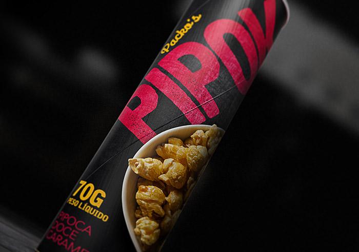Pipok爆米花包装设计