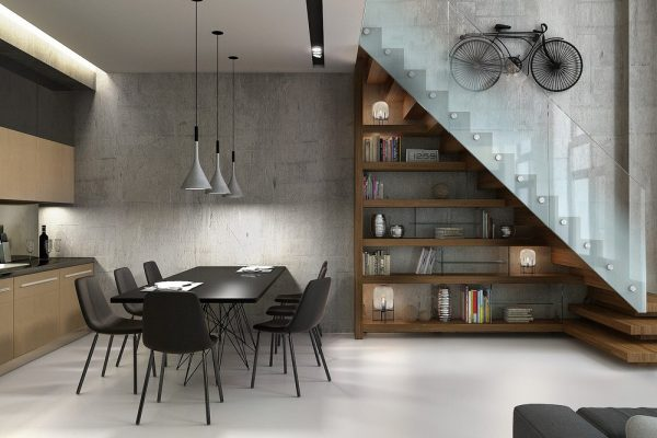 4 loft for Archi interni moderni