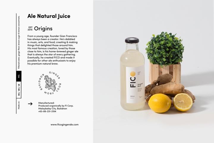 fico姜汁饮料包装设计