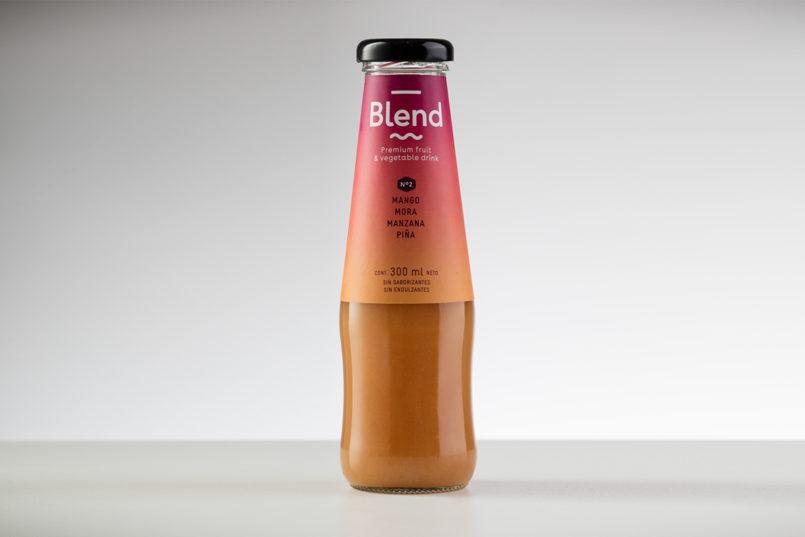Blend果汁包装设计
