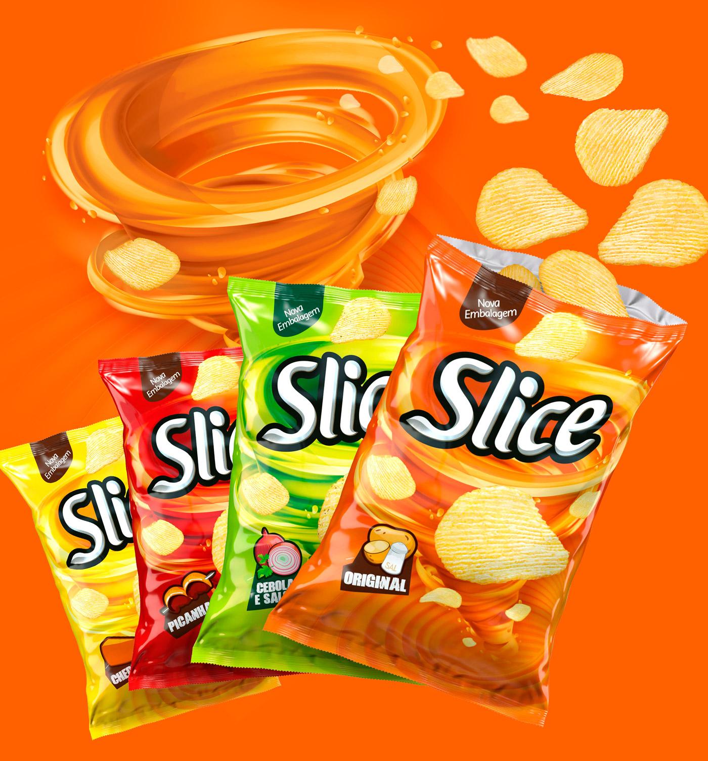 Slice薯片包装设计